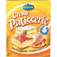 Crème Patisserie Vanille - 200g