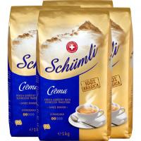 Kaffee Schümli Crema Bohnen 4x1kg