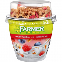 Farmer Joghurt Crunchy Waldbeeren - 225g